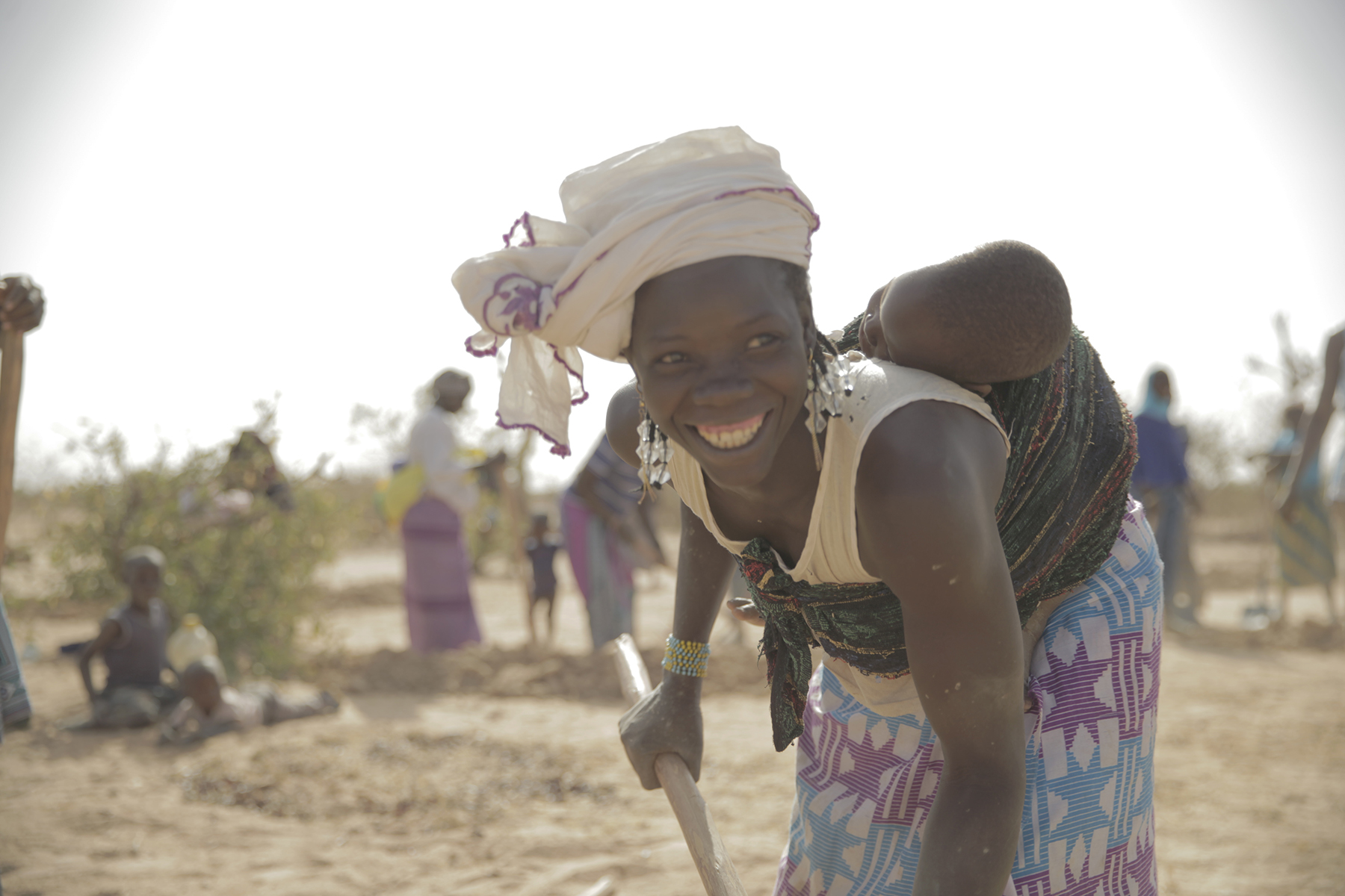Restaurer des terres desséchées